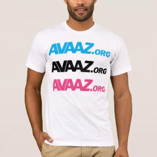 Blue Black Pink Logo Front / Pangea Back T-Shirt
