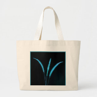 Blue Blades Tote Bags