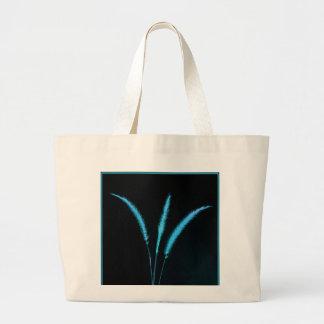 Blue Blades Jumbo Tote Bag