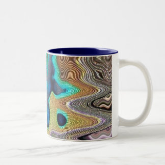 blue blob mug