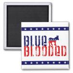 blue blooded democrat. fridge magnet