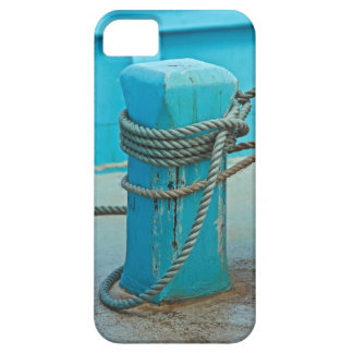 Blue Boat iPhone 5 Cover
