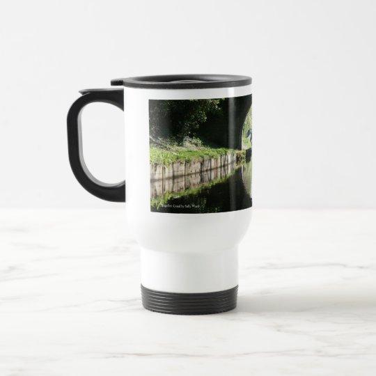 Blue Boat Llangollen Canal Travel Mug