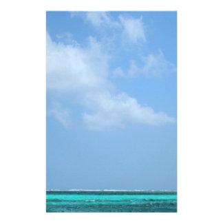 blue boat stationery