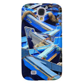 Blue Boats Galaxy S4 Case