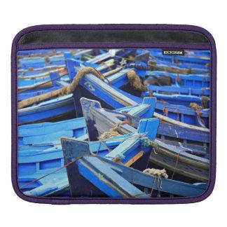 Blue Boats iPad Sleeve