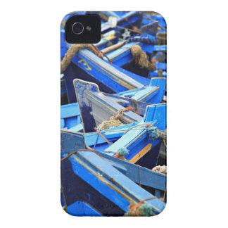 Blue Boats iPhone 4 Case-Mate Case