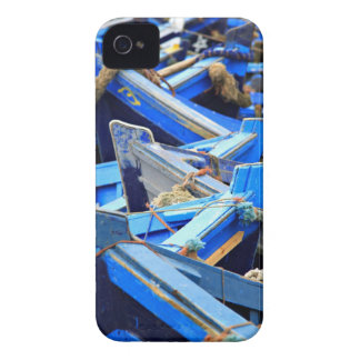 Blue Boats iPhone 4 Covers