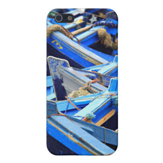 Blue Boats iPhone 5/5S Cover