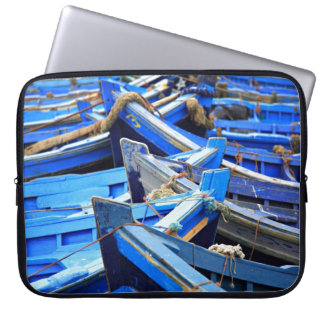 Blue Boats Laptop Sleeves