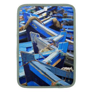 Blue Boats MacBook Sleeve