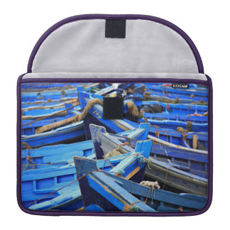 Blue Boats Sleeve For MacBook Pro