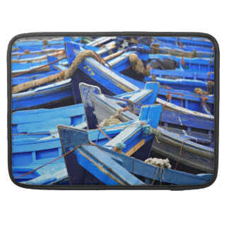 Blue Boats Sleeve For MacBooks