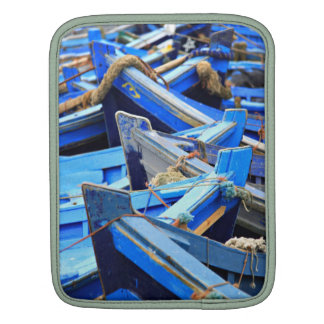 Blue Boats Sleeves For iPads