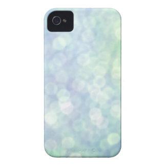 Blue bokeh iphone 4 case