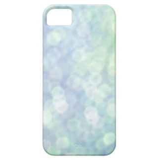 Blue bokeh iphone 5 case