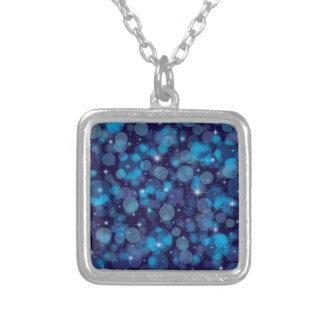Blue Bokeh Custom Jewelry