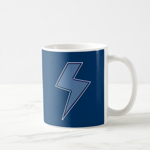 Blue Bolt Mugs