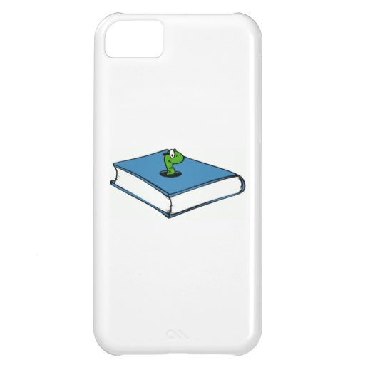 Blue Book Worm iPhone 5C Cover