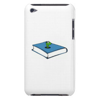 Blue Book Worm Barely There iPod Cases