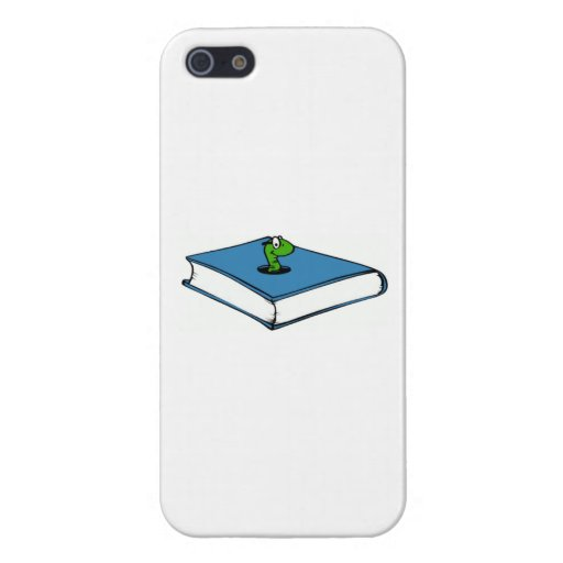 Blue Book Worm iPhone 5 Case