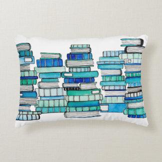 Blue Books Reversible Cushion