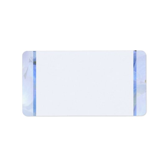 Blue Border Blank Avery Address Labels