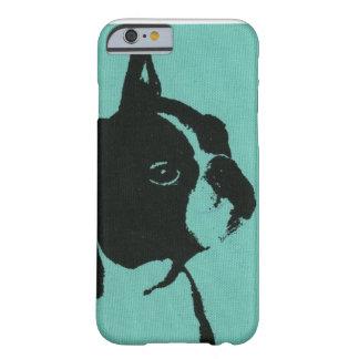Blue Boston Terrier Phone Case
