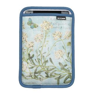 Blue Botanical iPad Mini Sleeve