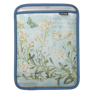 Blue Botanical iPad Sleeve