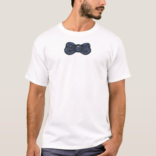 Blue Bow Tie Shirt