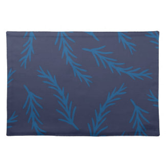 Blue Branches Placemat