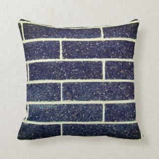 Blue Bricks Cushion