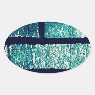 Blue Bricks Sticker