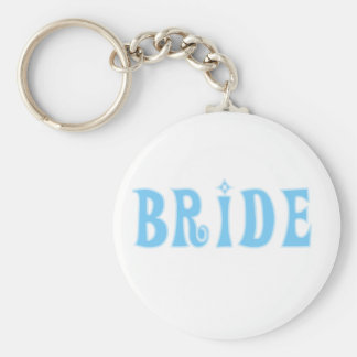 Blue Bride T-shirts and Gifts Key Chains