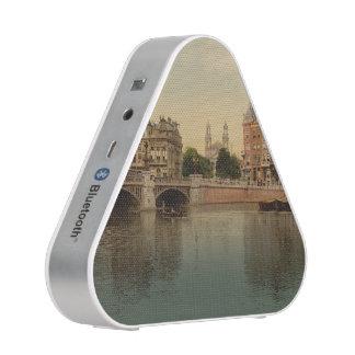 Blue Bridge and the Amstel River Amsterdam Speaker