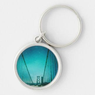 Blue Bridge - Keychain