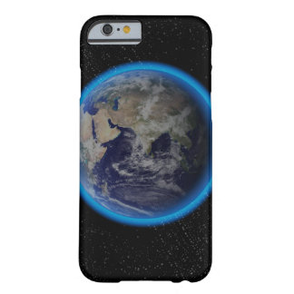 Blue Bright Barely There iPhone 6 Case
