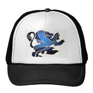 Blue British Lion Cap