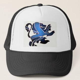 Blue British Lion Trucker Hat