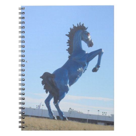 Blue Bronco Notebook