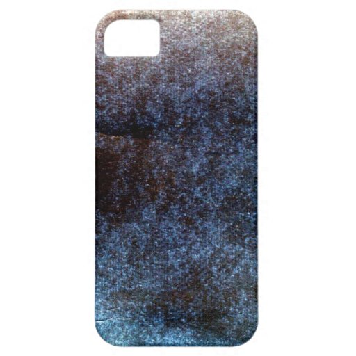 Blue Bronze Grunge iPhone Case iPhone 5 Cover