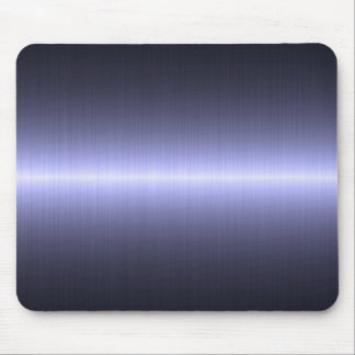 blue brushed strong mouse pad