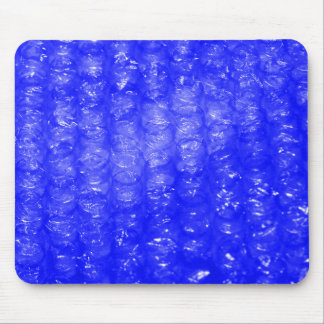 Blue Bubble Wrap Effect Mouse Mat