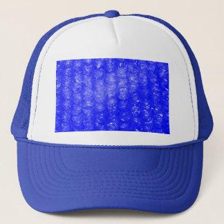 Blue Bubble Wrap Effect Trucker Hat