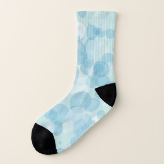 Blue Bubbles Socks
