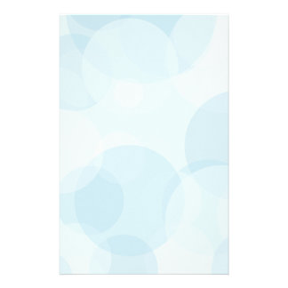 Blue Bubbles Stationery