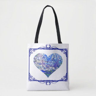 Blue Bubbles Tote Two