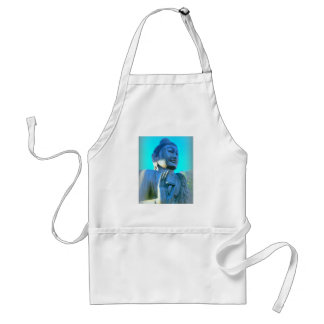 blue buddha standard apron