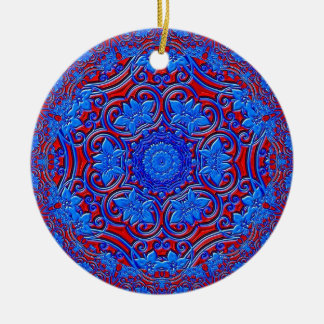 Blue Buddha Christmas Ornament